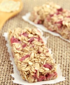 strawberry-banana-granola-bars