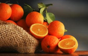 Oranges are high in Vitamin C but they are not the most Vitamin C rich food on our list!