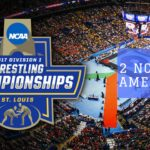 2 Wrestlers Place at NCAA Championships