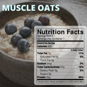 Muscle Oats Website
