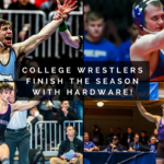 College Wrestlers End Season with Honors