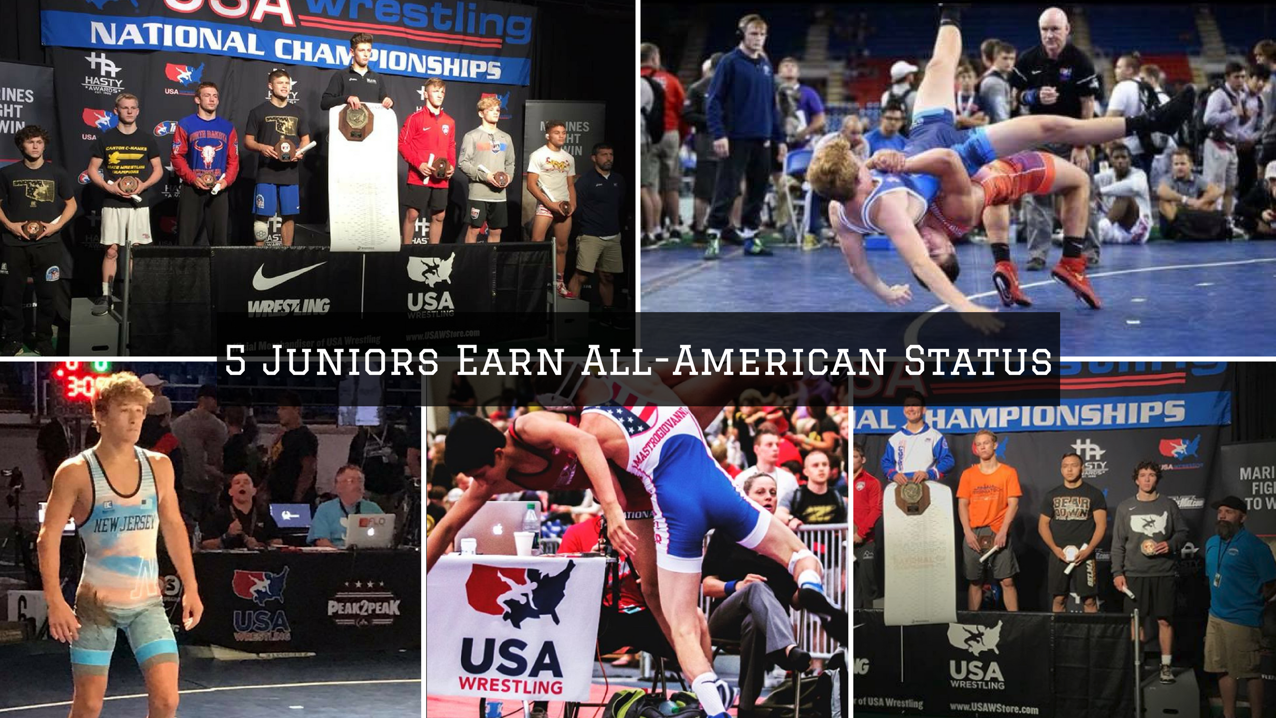 5 Juniors Earn All-American Status